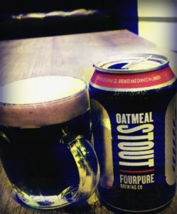 Fourpure Oatmeal Stout at Urban Golf