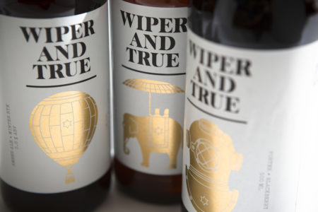 Drink Wiper and True Beer at Urban Golf